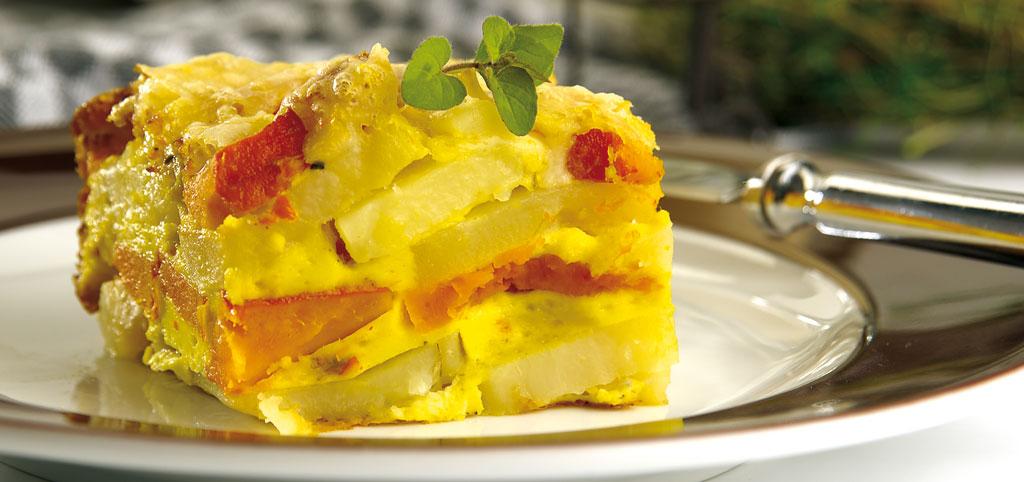 Kürbis-Kartoffel-Auflauf